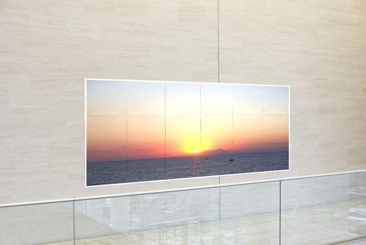 office wall, art