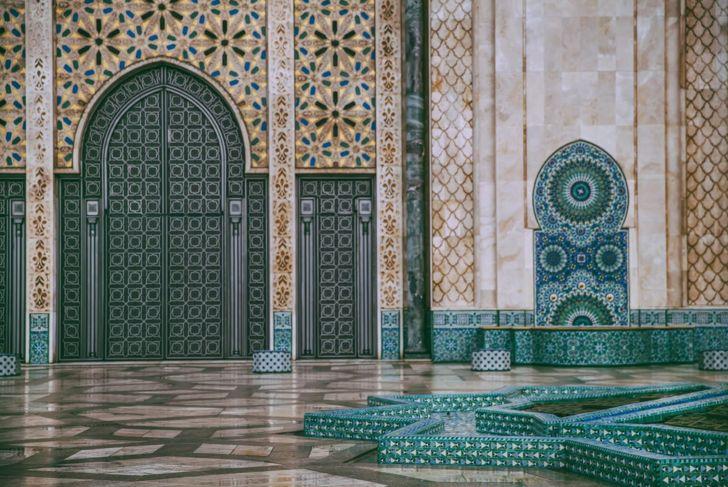 Moroccan style baths