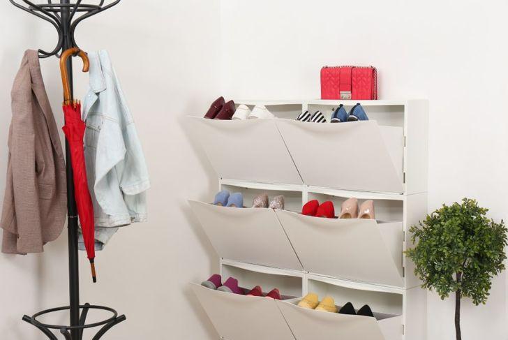 shoe cabinet footwear storage