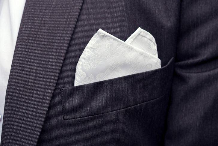 double peak pocket square