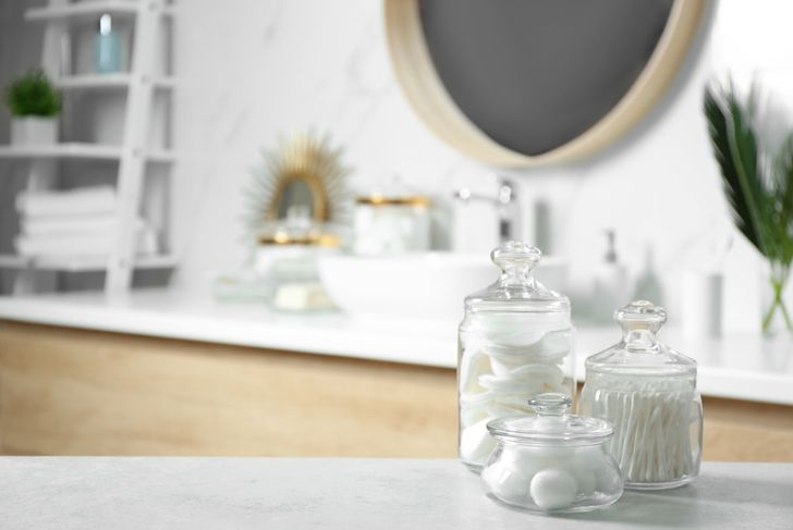 canisters bathroom storage
