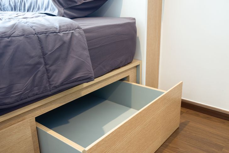 under-bed storage for shoes
