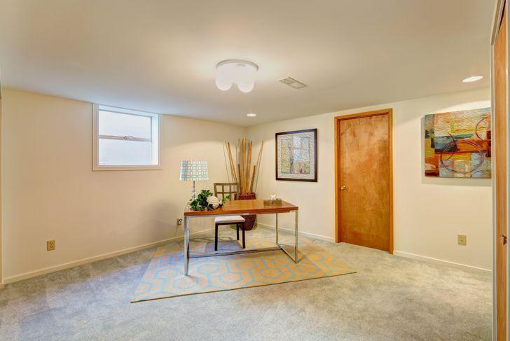 basement office room idea