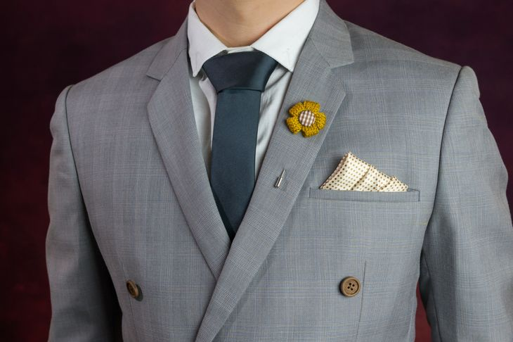 stairs pocket square