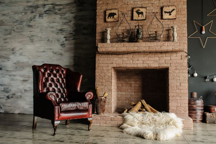 vintage mantle decor
