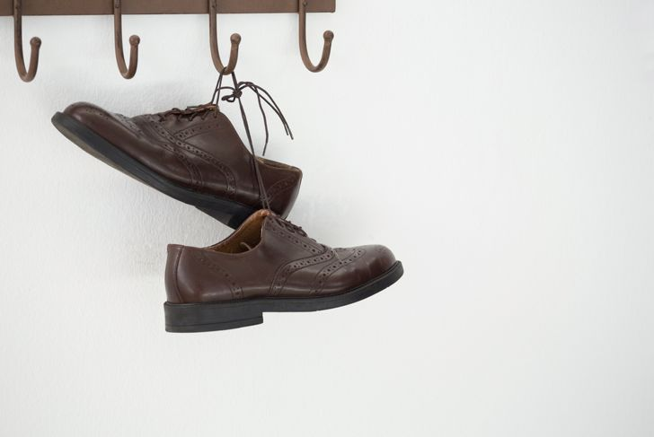 wall hooks for shoes