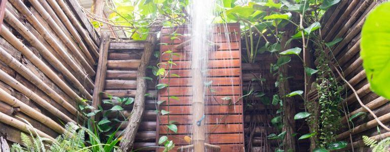 Wash Away Your Worries In An Indulgent Outdoor Shower