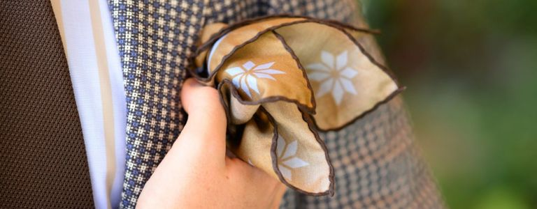 Get Inspired By These Unique Pocket Square Folds