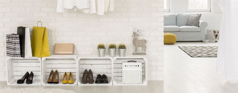 Creating Order With a DIY Shoe Rack