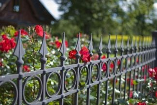 Inspiration for a Beautiful Garden Fence