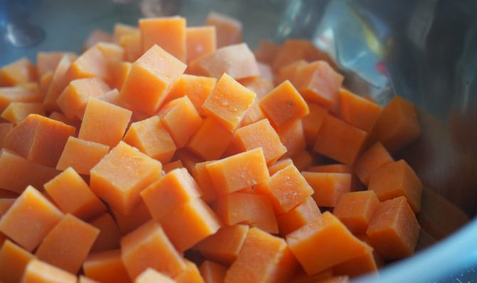 1. Prepare the potatoes