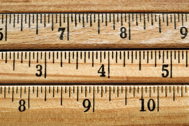 Inches measure fractions, not decimals
