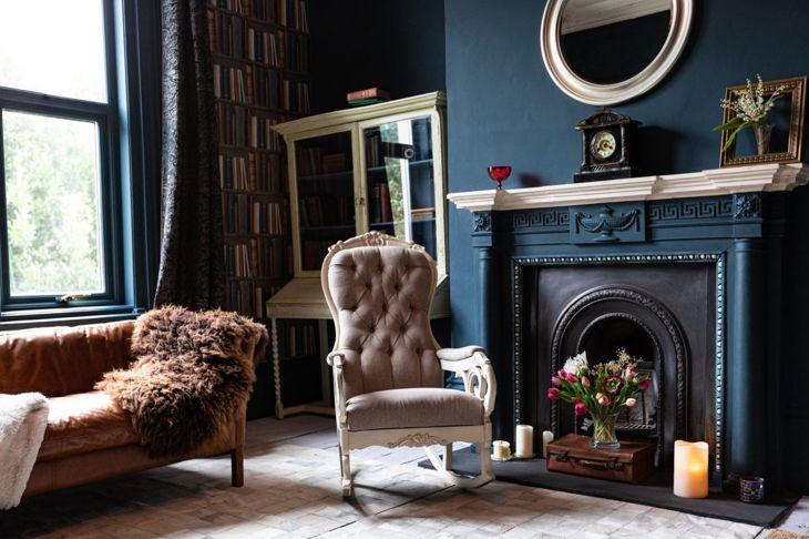 Elaborate vintage chair