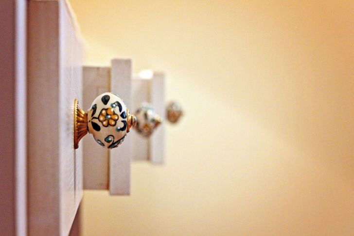 Intricate drawer knobs