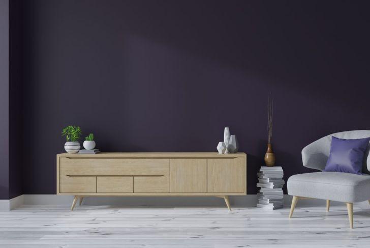 Deep purple interiors