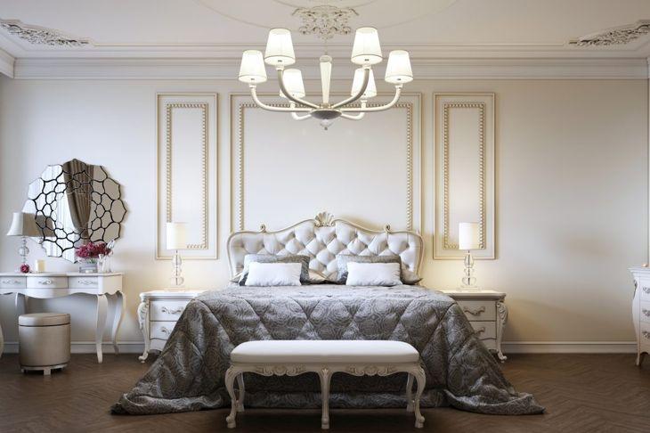 art deco bedroom theme
