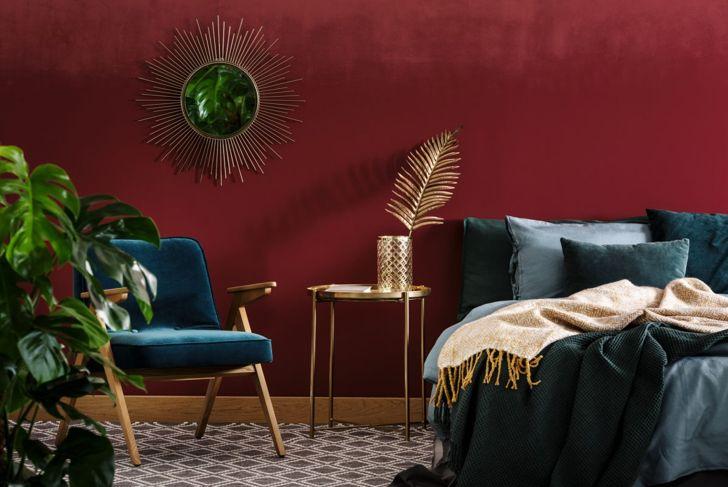 glamorous bedroom theme