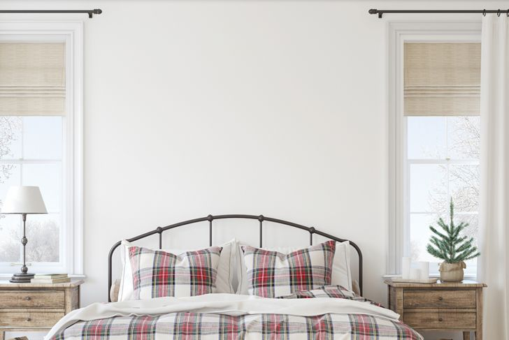 farmhouse decor style bedroom