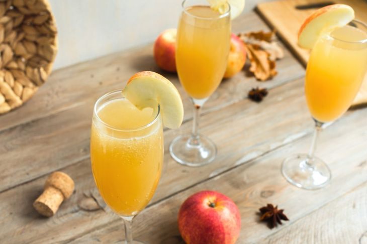 Apple cider is a fancy and tasty non-alcoholic beverage.
