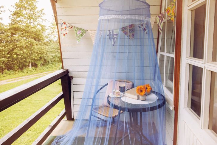 Cute one-person mosquito netting