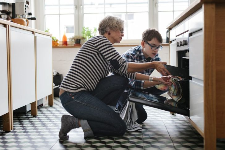 People with eating restrictions are often all to willing to help prepare meals if they are able.