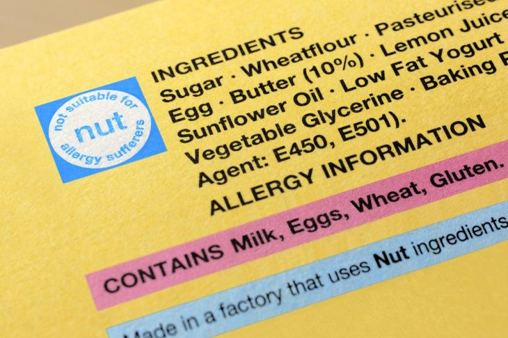 Pay attention to food labels.