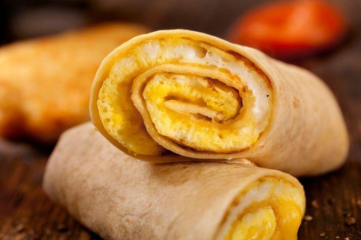 breakfast burrito roll-up