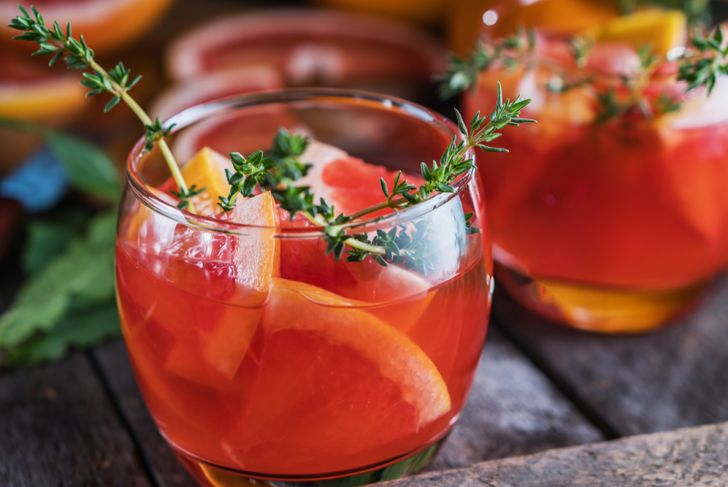 grapefruit and thyme cocktail virgin