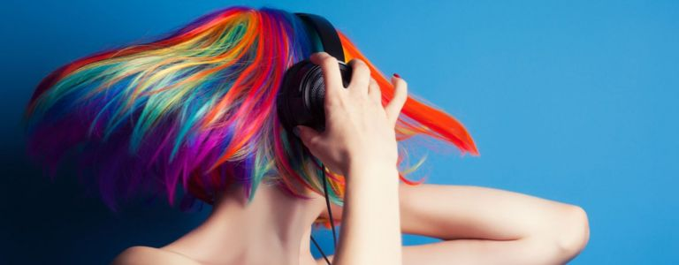 We're So Not Over the Rainbow Hair