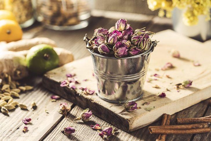 Roses make recipes fragrant