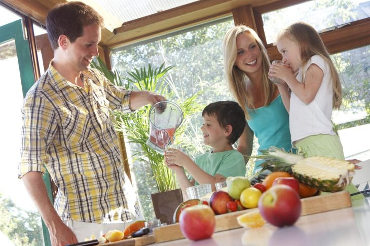 Healthy smoothies for busy families