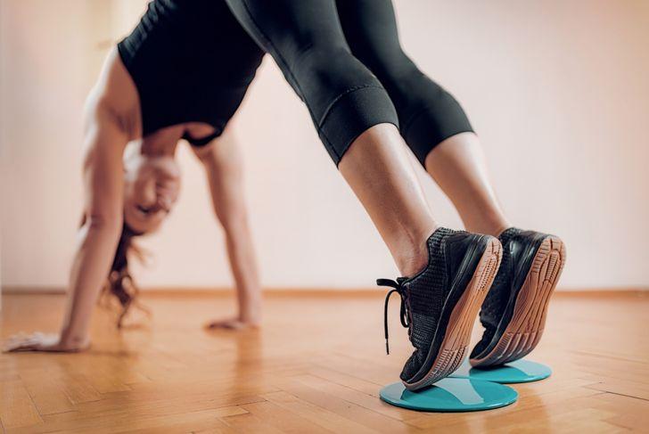 sliding discs for fitness
