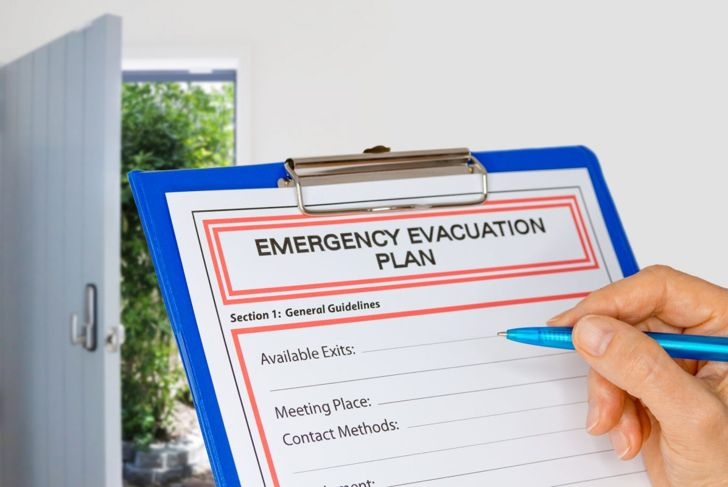 Creating an evacuation plan