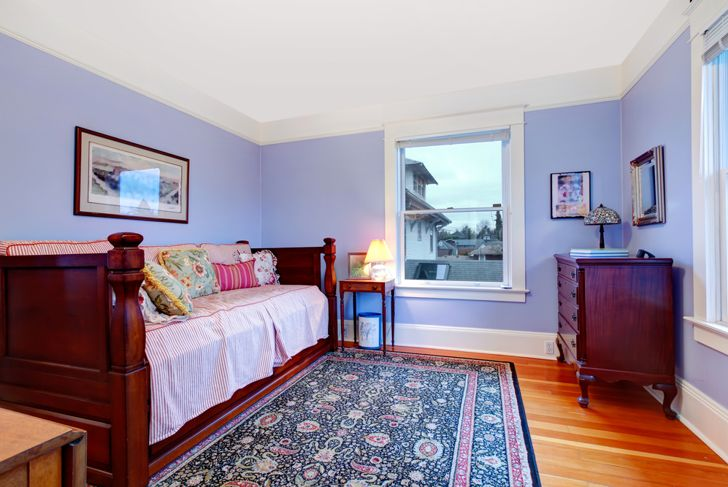 guest bedroom with day bed