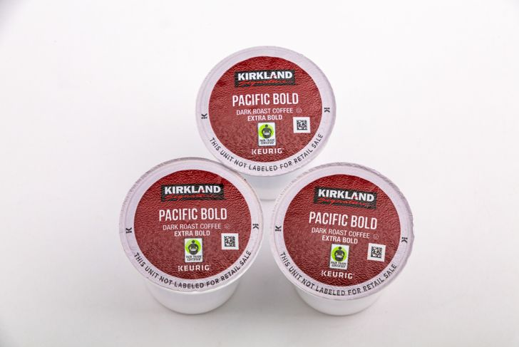 kirkland single-serve coffee pods