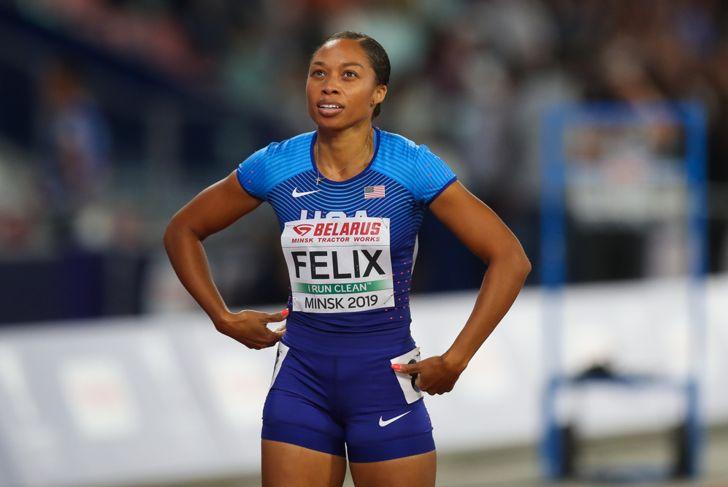 Allyson Felix track and field star