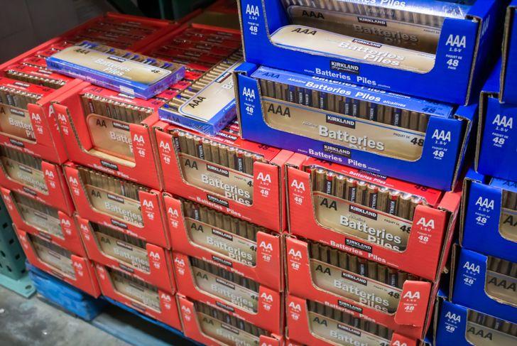 kirkland brand batteries at costco