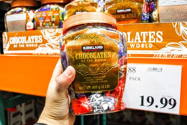 kirkland brand chocolates