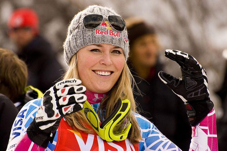 Lindsey Vonn alpine skiier